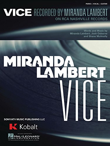 Miranda Lambert - Vice - Sheet Music Single