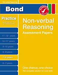 Bond First Papers in Non-verbal Reasoning 7-8 years (Bond Assessment Papers)