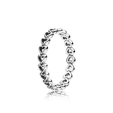 anillo corazon pandora