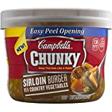 Campbell's Chunky Soup, Sirloin Burger with Country Vegetables, 15.25 Ounce (Pack of 8)