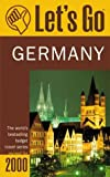 Germany, Griffin Trade Paperbacks Publishing Staff and Let's Go, Inc. Staff, 0312244681
