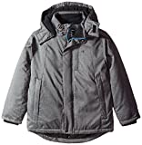 Calvin Klein Big Boys' Zenith Technical Jacket, Charcoal Heather, Large