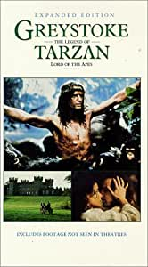 Greystoke: Legend of Tarzan Lord of Apes [VHS]