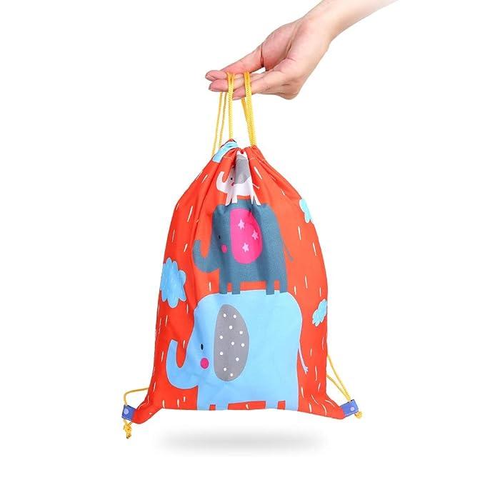 5x Kindertasche Kinder Sporttasche Basteln Tasche Kindergeburtstag Mitgebsel