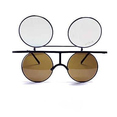 GloFX Lunettes de diffraction pour hommes Ordinaire Noir mat qC63au