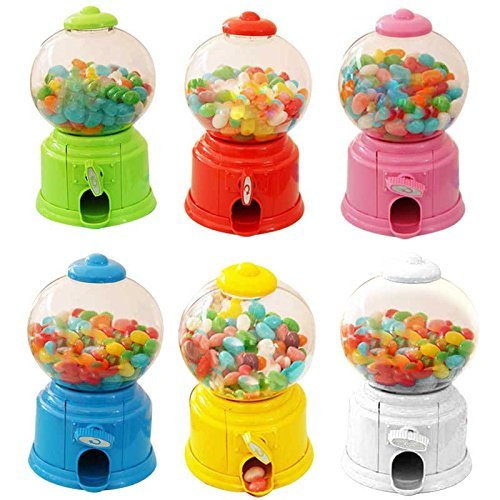- Cute Sweets Mini Candy Machine Bubble Gumball Dispenser Coin Bank Kids Toy Money Saving Box Gift Toys