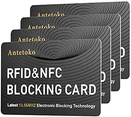 3 x RFID PASSPORT Blocking Protector Contactless Holder 100/% Protection RF