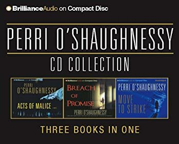 Perri O'Shaughnessy CD Collection: Breach of Promise, Acts of Malice, Move to Strike (Nina Reilly) 1597377171 Book Cover
