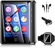 """Mp3 Players with Armband, 32GB Mp3 Music Players with Bluetooth, 2.8"""" Full TouchScreen Portable Mp4 Mp3 Player"""