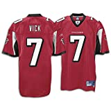 Falcons Reebok Men's NFL Premier Jersey ( sz. L, Vick, Michael : #7: Falcons )