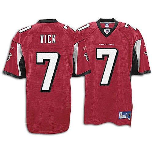 Falcons Reebok Mens Nfl Premier Jersey   Sz  L  Vick  Michael    7  Falcons