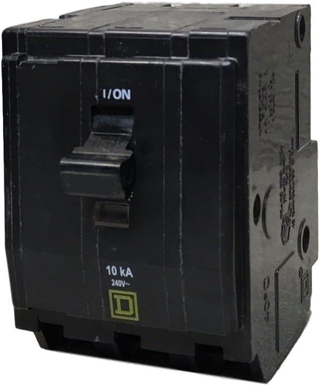 SCHNEIDER ELECTRIC Miniature Circuit Breaker 240-Volt 25-Amp QO325 Switch Fusible Hd 600V 60A 4P Nema1