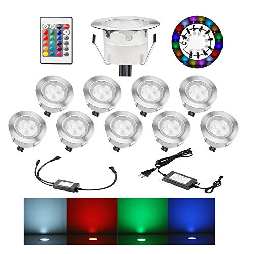 Multi Color Led Recessed Lighting in US - 3