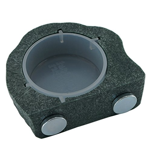 Reptile-Bowl-Gecko-Ledge-Magnetic-Gecko-Feeder-Small-Green