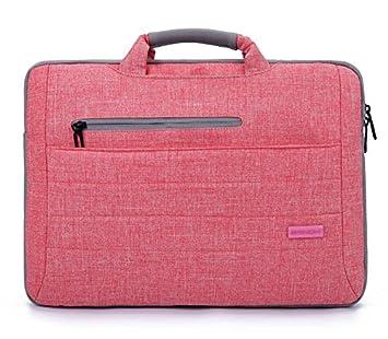 rongt personalizado ordenador portátil bolsa para Apple Lenovo Dell ultra-pole de el paquete maletero 15,6 pulgadas rosa: Amazon.es: Electrónica
