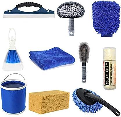 Amazon Com Oneuda Car Cleaning Tools Kit 10pcs Exterior