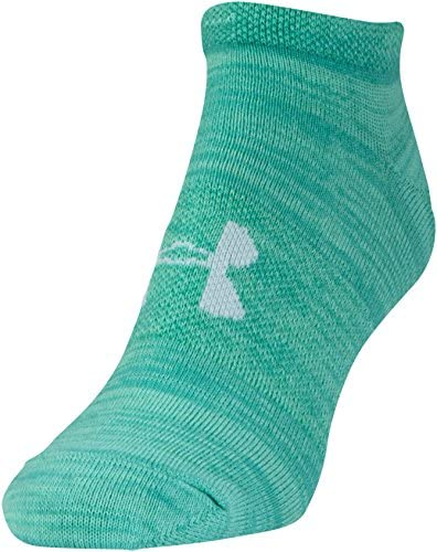Under Armour Women's Essential No Show Socks, 6-Pairs