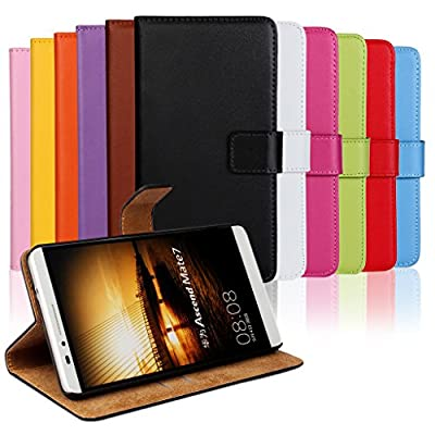 Lumia 1020 Case, iCoverCase Genuine Leather Magnetic Flip [Card Slot] Wallet Cover Kickstand Case for Nokia Lumia 1020 from iCoverCase