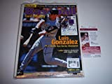 Luis Gonzalez Arizona Diamondbacks,ws Champs coa Signed Magazine - JSA Certified - Autographed MLB Magazines