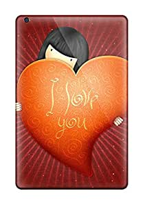 Phone Case Case For Ipad Mini/mini 2 With Nice Love You S Appearance