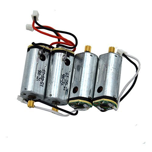 Blomiky 4pcs 2CCW+2CW Motor for I8HG Yizhan Tarantula X6 and JJRC H16 RC Quadcopter Drone Spare Parts X6 by Blomiky
