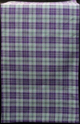 Painted Green Highland (Table Runner (Large) in a Green and Purple Highland Plaid Design)