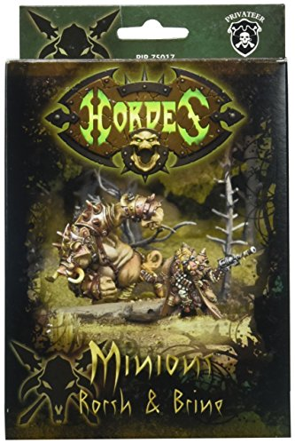 Privateer Press – Hordes – Minion: Lesser Warlock Rorsh & Brine Model Kit