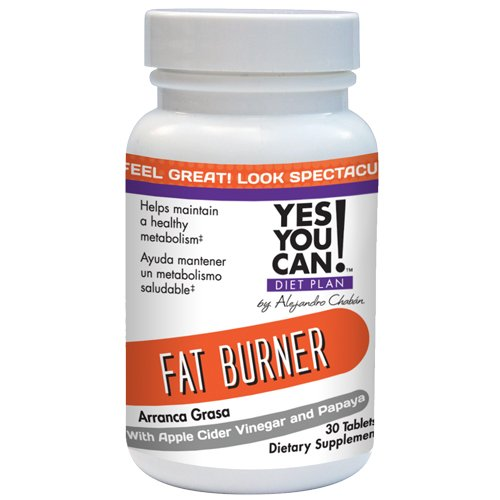 Yes You Can! Diet Plan: Fat Burner 30 Tablets