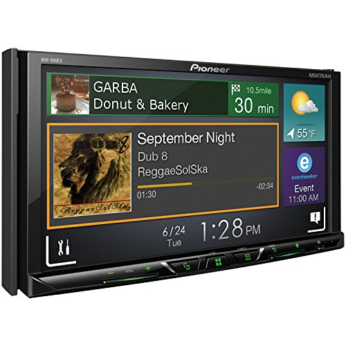 Pioneer AVH-600EX in-Dash Receiver DVD Receiver w/ 7″ WVGA Display, Bluetooth, SiriusXM Ready and AppRadio