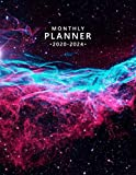 2020-2024 Planner: Nebula & Galaxy 5 Year Monthly