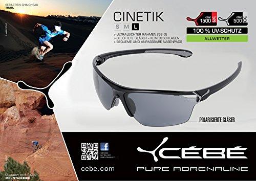 Amazon.com: Cebe Cinetik anteojos de sol (sólo Gris lentes ...