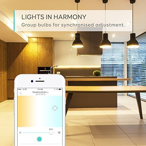Eufy Lumos Smart Bulb-Tunable White, Soft White To Daylight (2700K-6500K), 9W, Works With Amazon Alexa, No Hub Required, Wi-Fi, 60W Equivalent, Dimmable LED Bulb, A19, E26, 800 Lumens