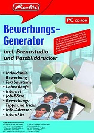 herlitz bewerbungs generator - Generator Bewerbung