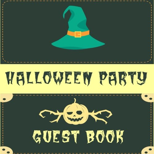 Guest Book Halloween Party: Guest Book Halloween Party V19
