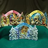 Christmas 3D Card Ornaments - Pop-Outs (B) - Set of 3