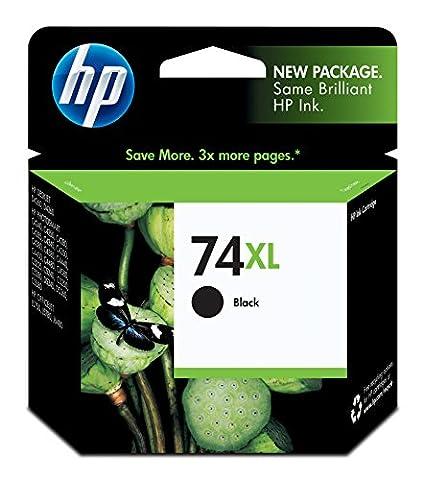 HP 74XL Ink Cartridge, Black (Hp Cartridge 10)