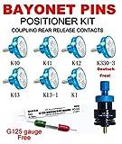 CABLEGIA K40+K41+K42+K43+K709+K13-1+K1 POSITIONER+G125 GAUGE SK2/2 UNIVERSAL POSITIONER SUPER KIT