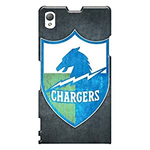 PhilHolmes Sony Xperia Z1 Protector Hard Phone Cover Customized High-definition San Diego Chargers Pattern [Lfh6852EzqV]