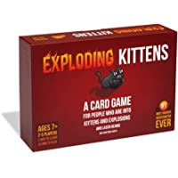 Exploding Kittens - A Russian Roulette Card Game, Easy Family-Friendly Party Games - Card Games for Adults, Teens & Kids…