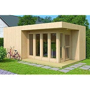 Best Epic Trends 510RZUCOMfL._SS300_ Allwood Arlanda XL | 227 SQF Studio Cabin Garden House Kit