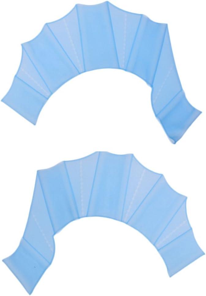Unisex Erwachsene Kinder Schwimmh/äuten MagiDeal Schwimmhandschuhe Aqua Glove