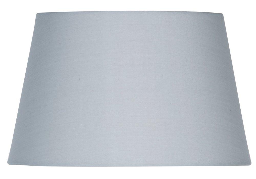 Oaks Lighting S901/14SG Abat-jour tambour Coton Gris S901/14 SG
