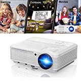 Home Theater Projector Support 1080p, Video Projector Full HD 3900 Lumens 50,000hrs LED