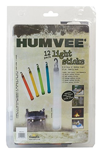 Humvee HMV-6-FP12 12-Piece Light Stick Pack]()