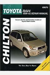 Toyota RAV4 1996-2002 (Chilton's Total Car Care Repair Manual) Paperback