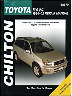 Toyota rav4 1996 thru 2010 haynes repair manual editors of toyota rav4 1996 2002 chiltons total car care repair manual fandeluxe Choice Image