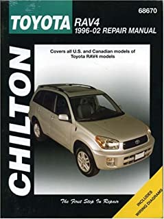 amazon com haynes 92082 toyota rav4 96 12 manual automotive rh amazon com
