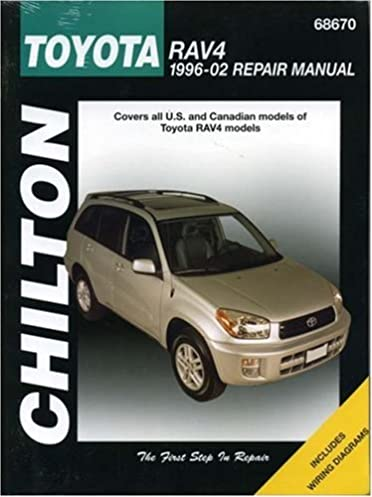 toyota rav4 1996 2002 chilton s total car care repair manual the rh amazon com 2007 rav4 repair manual 2007 rav4 service manual pdf