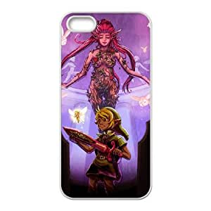 Majora's Mask iPhone 5 5s Cell Phone Case White xlb-180106