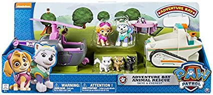Image Unavailable. Image not available for. Color  Paw Patrol Adventure Bay  Animal Rescue Skye   Everest 72aa0b1b41